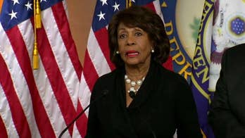California Democrat Maxine Waters says she lies awake thinking about impeaching Trump, defends call to harass Trump supporters; reaction and analysis on 'The Five.'