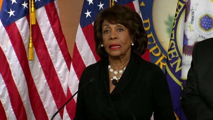 Maxine Waters renews calls to impeach President Trump
