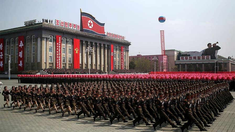 National Day celebrations included a big military parade, but no display of long-range ballistic missiles; Greg Palkot reports from Seoul, South Korea.