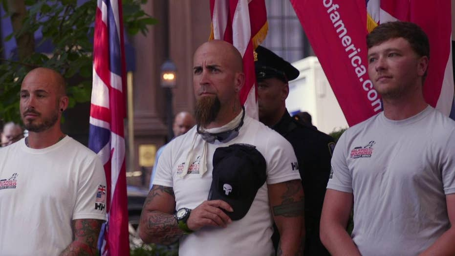 Veterans walk 1,000 miles to tell their tale