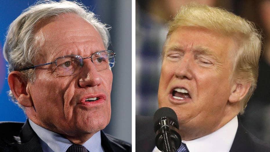 Animosity between Trump, Woodward escalates over new book
