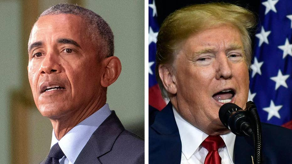 Trump and Obama trade jabs as midterms approach