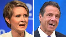 Incumbent New York Democratic Governor Andrew Cuomo works to fend off celebrity challenger Cynthia Nixon; reaction from Ronna McDaniel, chairwoman of the Republican National Committee.