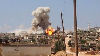 President Bashar al-Assad masses troops for impending assault on the last rebel-held enclave in Syria; Benjamin Hall reports.