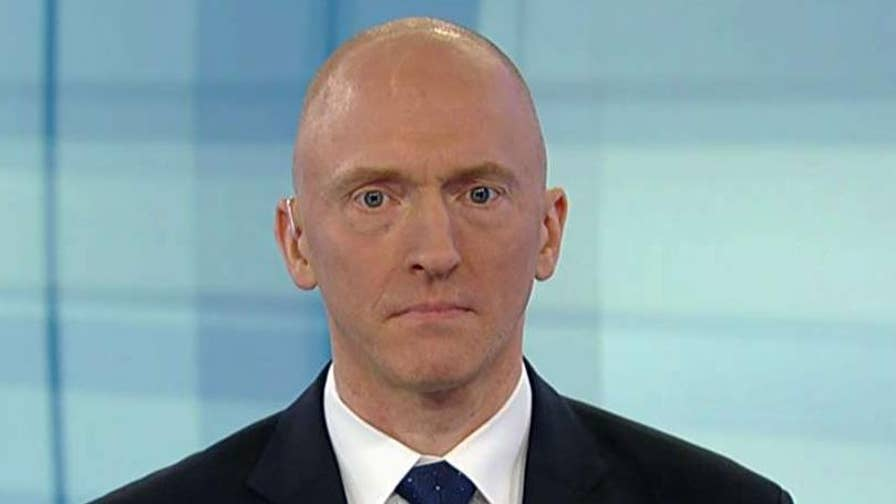Carter Page says he wants to fix the 'terrible thing' that has happened in the country. Former Trump campaign associate speaks out on 'Hannity.'