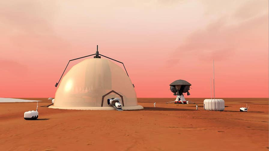 A new study has revealed a plan for humans to colonize Mars or any other planet in our solar system.  The plan would consist of sending robots to build research bases for humans to later study and live on.