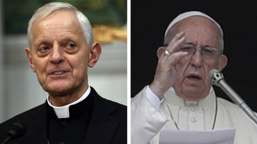 Cardinal Wuerl to meet with the pope to discuss potential resignation. Trace Gallagher has the story.