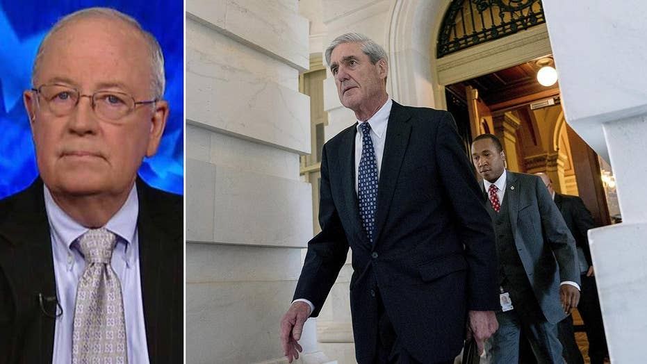 Ken Starr on Mueller, special counsels' roles, new book