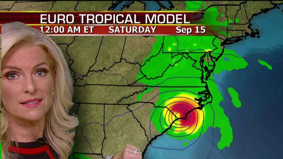Florence to bring catastrophic rainfall to East Coast
