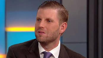 Executive Vice President of the Trump Organization Eric Trump touts the economy on 'Fox & Friends' amid Democrats' impeachment rhetoric and Bob Woodward's book.