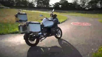 BMW's new self-driving motorcycle