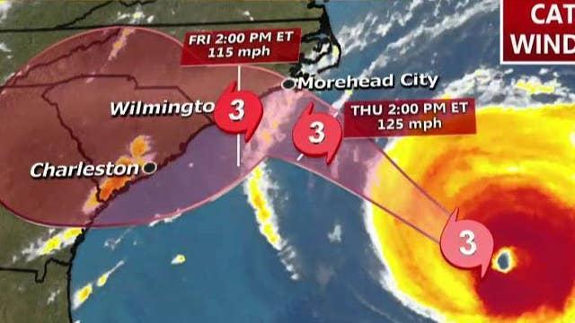 Myrtle Beach, SC mayor: Hurricane Florence is massive storm