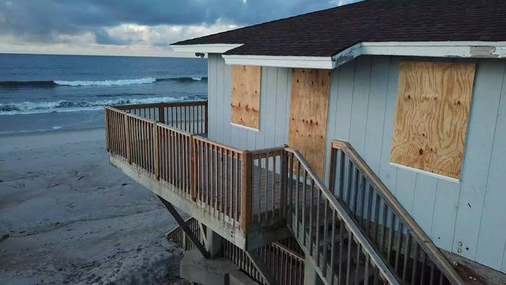 Hurricane Florence: An eerie calm before the storm