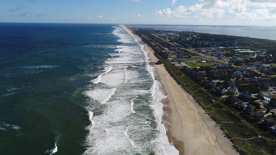 Southeast coastline facing winds, storm surge, flooding and extended rainfall; Griff Jenkins reports from Atlantic Beach, North Carolina on the evacuations.
