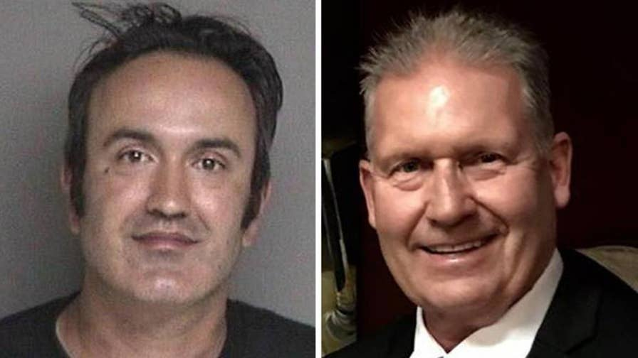 GOP congressional candidate Rudy Peters was injured when Farzad Fazeli allegedly attacked him with a knife while shouting obscenities about the Republican Party and President Trump.