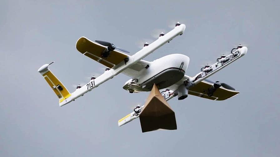 Ten partners nationwide test drone delivery applications