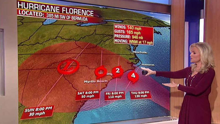 Catastrophic flooding expected from Florence