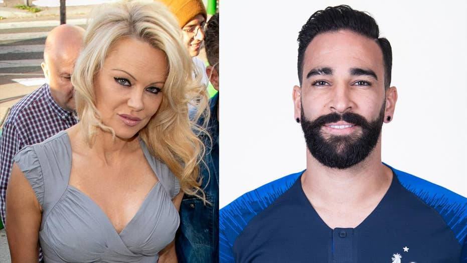 Have Pamela Anderson and soccer star Adil Rami split?