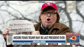 Michael Moore blasts President Trump at Cannes Film Festival