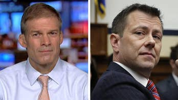 New text messages between ex-FBI employees Peter Strzok and Lisa Page revealed; Reps. Jim Jordan and Mark Meadows react on 'Hannity.'