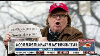 Michael Moore blasts President Trump at Cannes Film Festival
