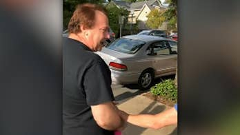 Raw video: Employees at Baja Grill in Little Rock come together to surprise their coworker with his own car.