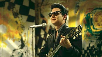 Roy Orbison's son Alex Orbison says he cried after seeing his late father's hologram for the first time on tour.