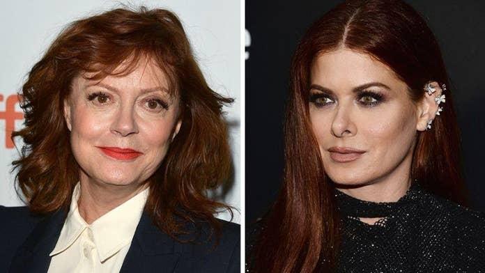 Liberal Hollywood stars Debra Messing and Susan Sarandon's feud festers