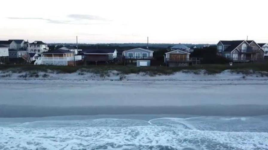 Fox News' Leland Vittert reports from Atlantic Beach, North Carolina