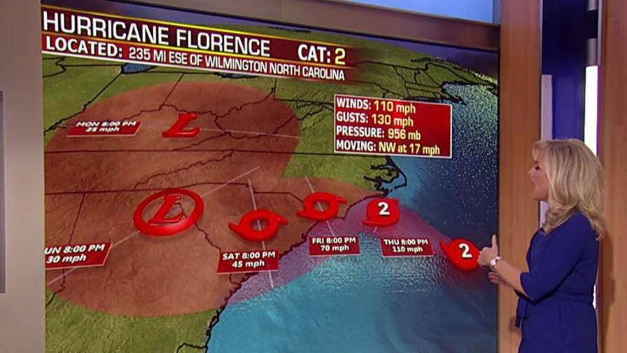 Fox News senior meteorologist Janice Dean reports.