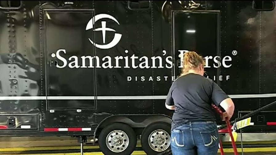 Rev. Franklin Graham seeking army of volunteers to aid in recovery efforts in the Carolinas.