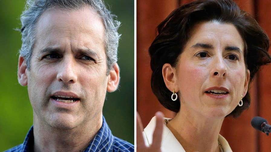 Fox News politics editor Chris Stirewalt says Matt Brown's failed insurgent primary challenge of incumbent Democratic Gov. Gina Raimondo is 'very good news for Democrats.'