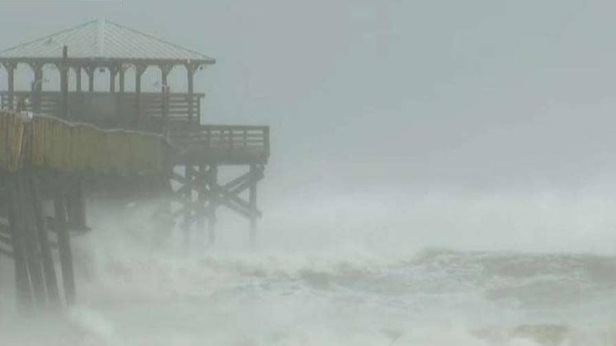Brenda Bethune expects conditions to deteriorate rapidly ahead of Hurricane Florence's landfall, says authorities are hoping for the best but preparing for the worst.