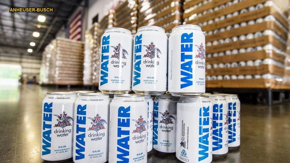 Anheuser-Busch sending cans of water to Hurricane Florence victims