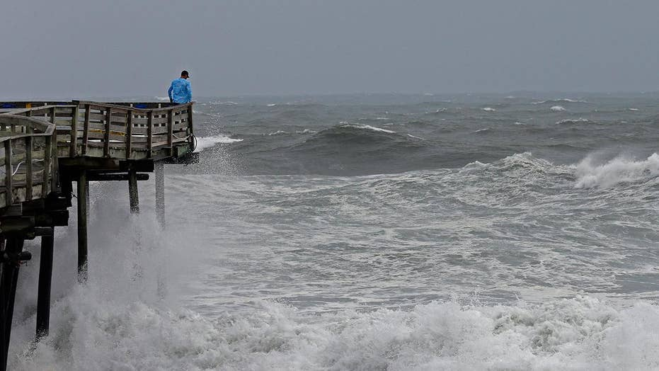 Hurricane Florence slows to a crawl as it approaches coast