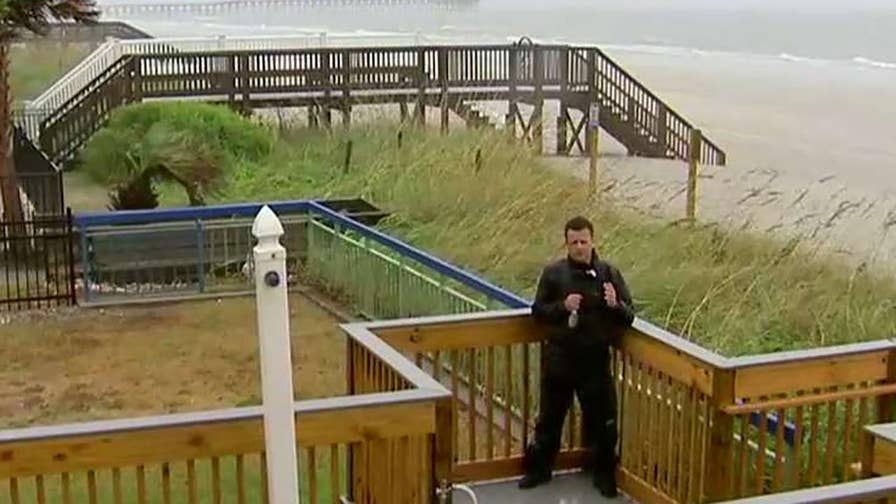Jonathan Hunt on what to expect from the high tide in North Myrtle Beach, South Carolina.