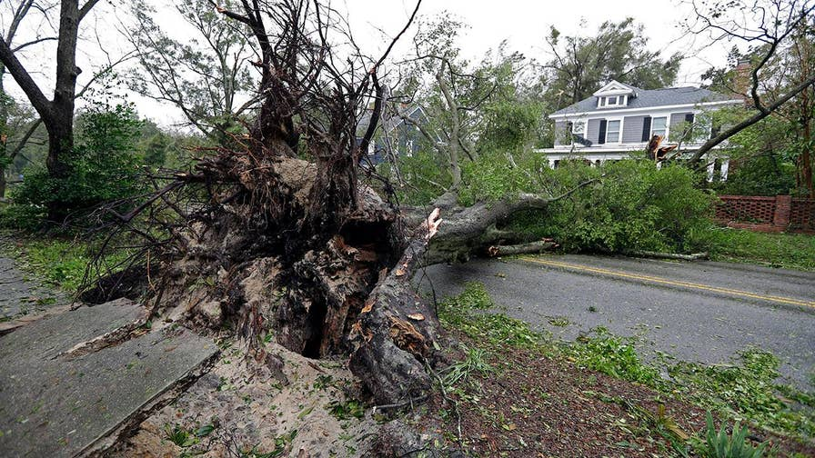 Hurricane Florence kills mother and baby, father hospitalized in Wilmington, North Carolina.