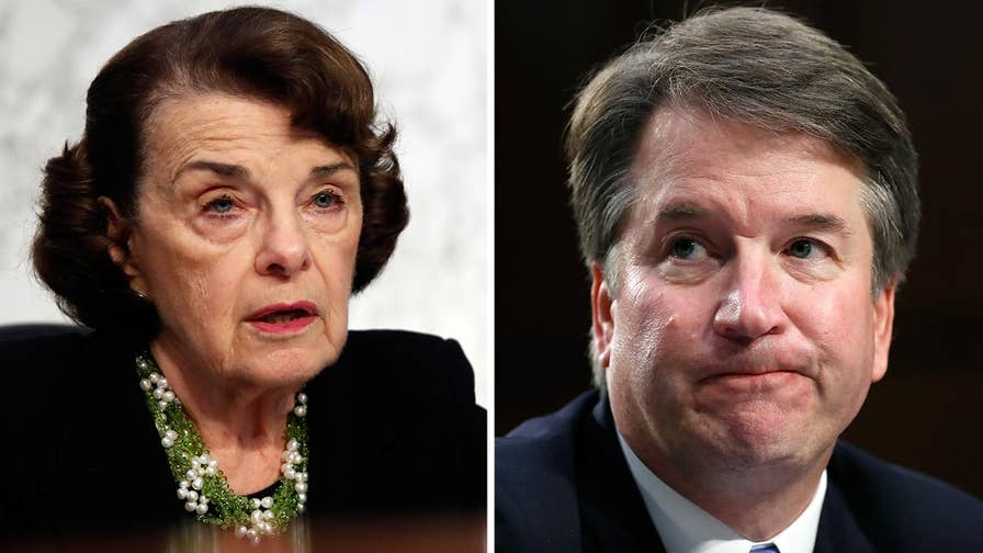 Senator Dianne Feinstein turns over letter of allegations against Kavanaugh to the FBI; attorney Carrie Severino reacts on 'The Ingraham Angle.'