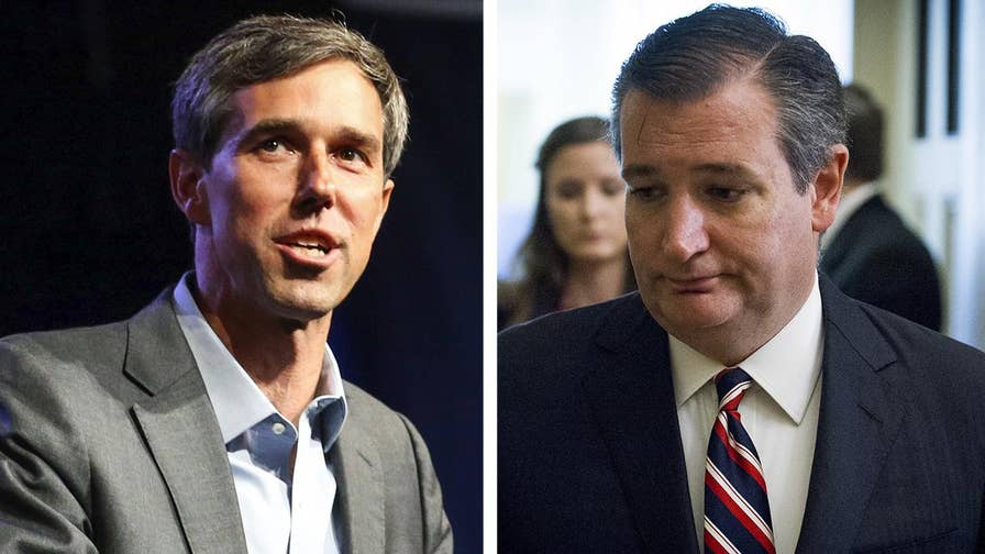 Democratic Congressman Beto O'Rourke has parlayed positive press into a $10 million fundraising advantage over Sen. Ted Cruz; Peter Doocy reports from Houston, Texas.