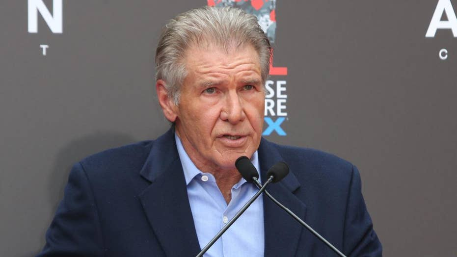 Harrison Ford gives impassioned speech about climate change