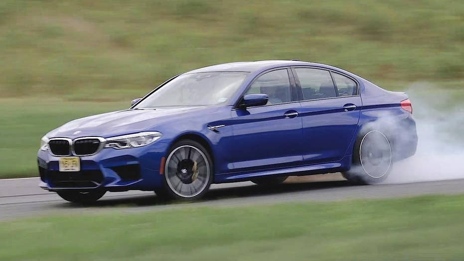 The BMW M5 is a $105,000 burnout machine