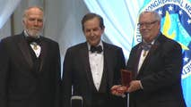'Fox News Sunday' host Chris Wallace speaks after receiving award by the Congressional Medal of Honor Society.