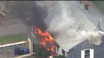 Multiple homes explode north of Boston; Bryan Llenas shares latest details.