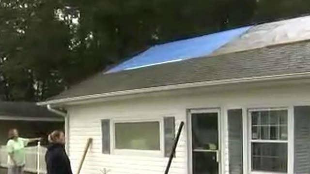 Inside a South Carolina home damaged by Florence