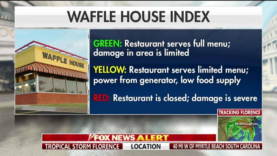 Waffle House CEO in Wilmington...