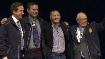 Meet three of America's 72 living Medal of Honor recipients, men who went above and beyond the call of duty and received the country's highest military honor.