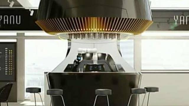 Robotics company introduces AI-powered robot bartender