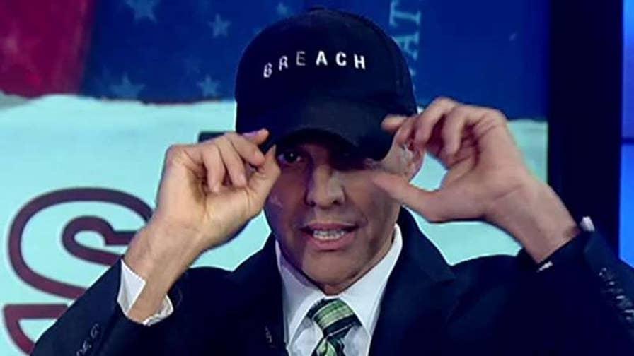 Former FBI operative Eric O'Neill demonstrates on 'Watters' World.'