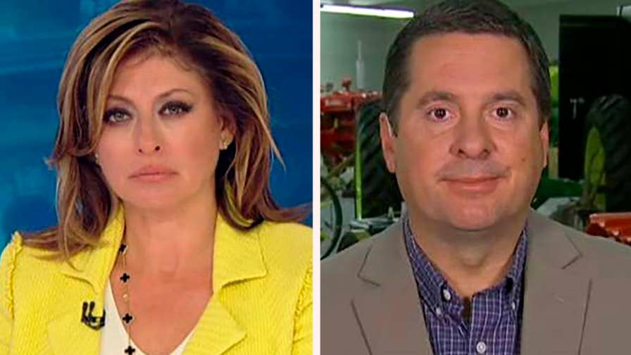 Texts show former FBI officials Peter Strzok and Lisa Page talking about media leaks; Rep. Devin Nunes reacts on 'Sunday Morning Futures.'