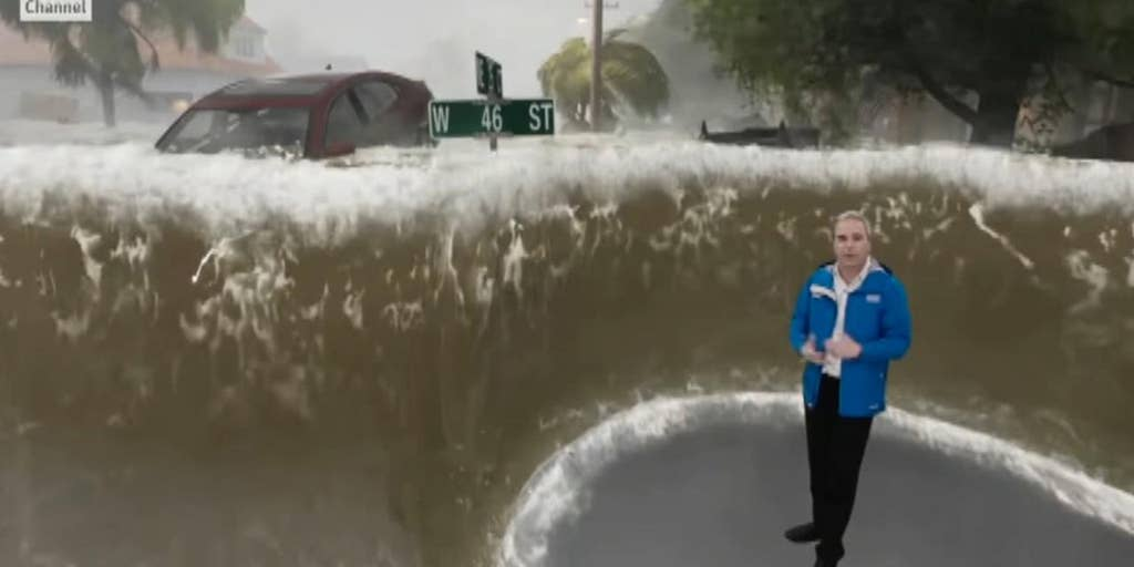 Weather Channel's frightening augmented reality videos show